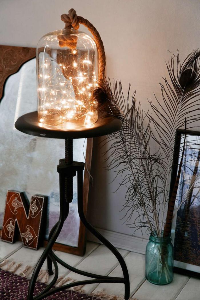 Decoration de lampe de chevet