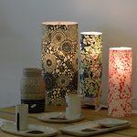 Lampadaire japonais papier