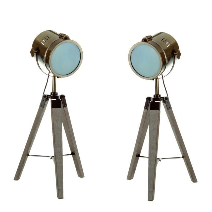 Lampe design projecteur