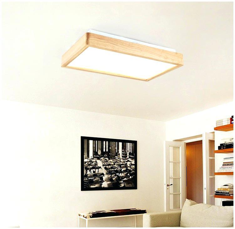 Lampe bois design salon