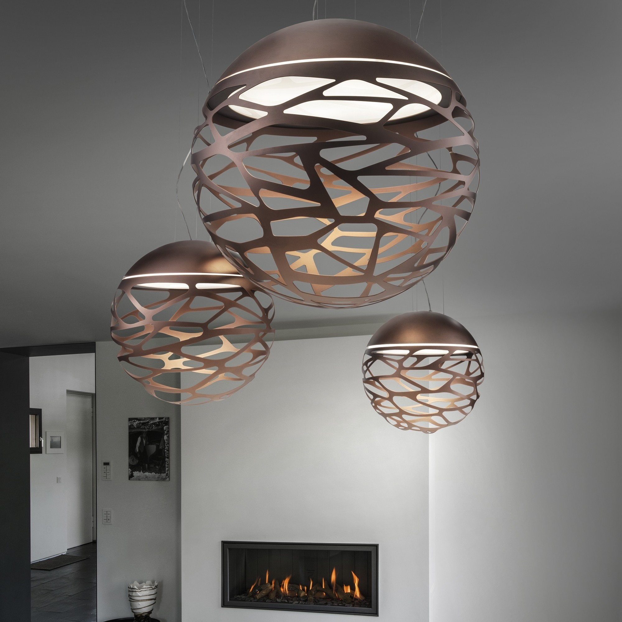 Lampe suspension design italien