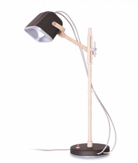 Lampe bureau design vert