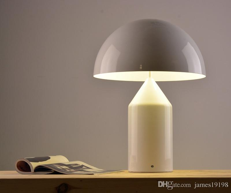 Lampe design champignon à led