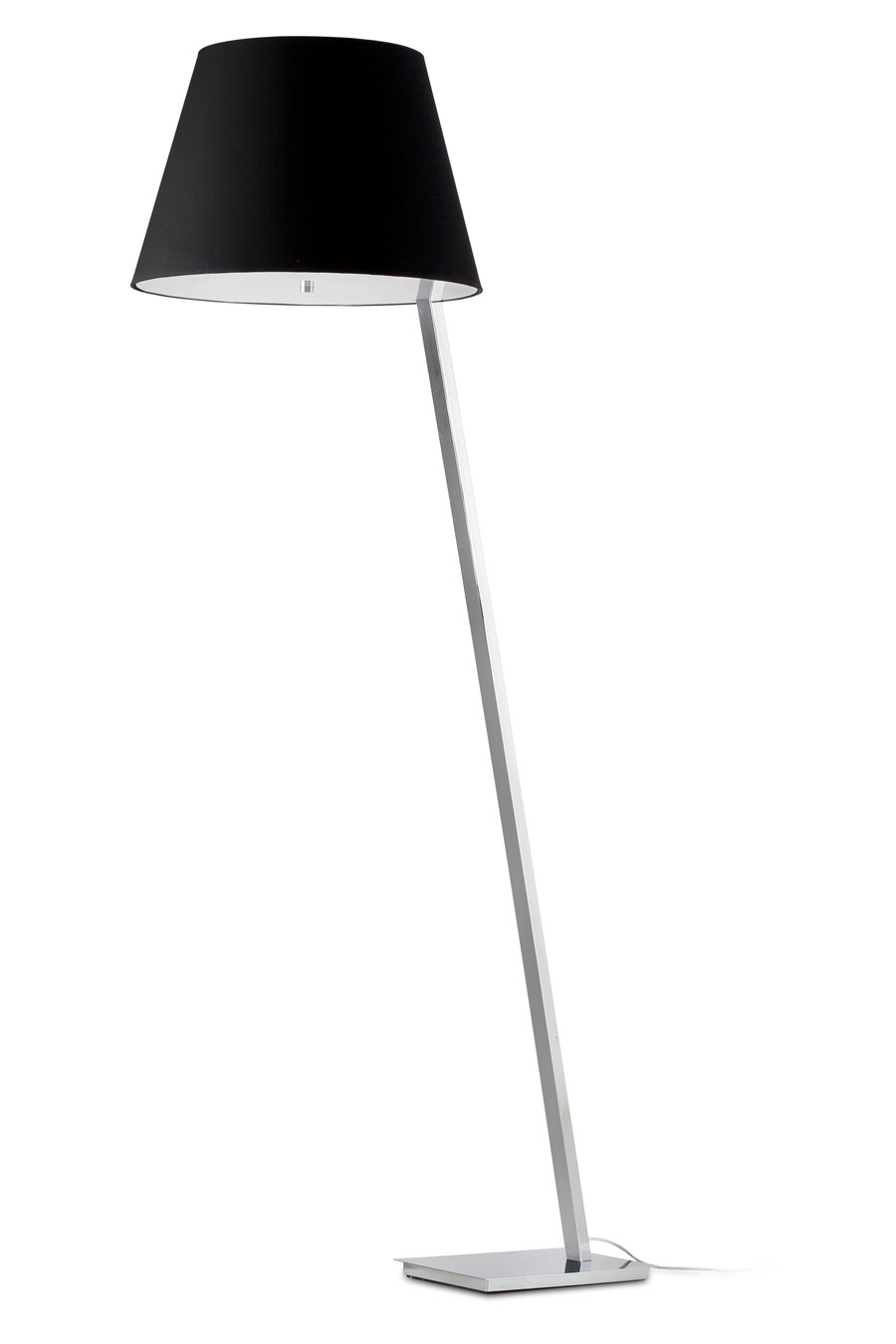 Lampe design chromé