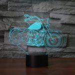 Lampe de chevet forme moto