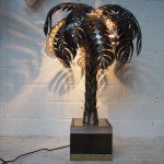 Lampe palmier design
