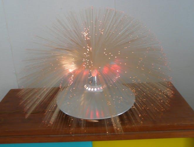 Lampe de chevet fibre optique