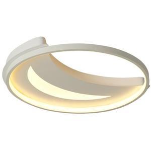 Plafonnier moderne led design spirale lustre lampe à suspension métal