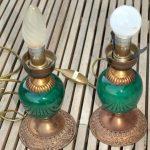 Lampe de chevet vert emeraude
