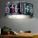 Lampe de chevet route 66