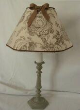 Lampe de chevet abat jour hexagonal