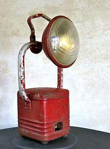 Lampe chantier design