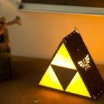 Lampe de chevet triforce