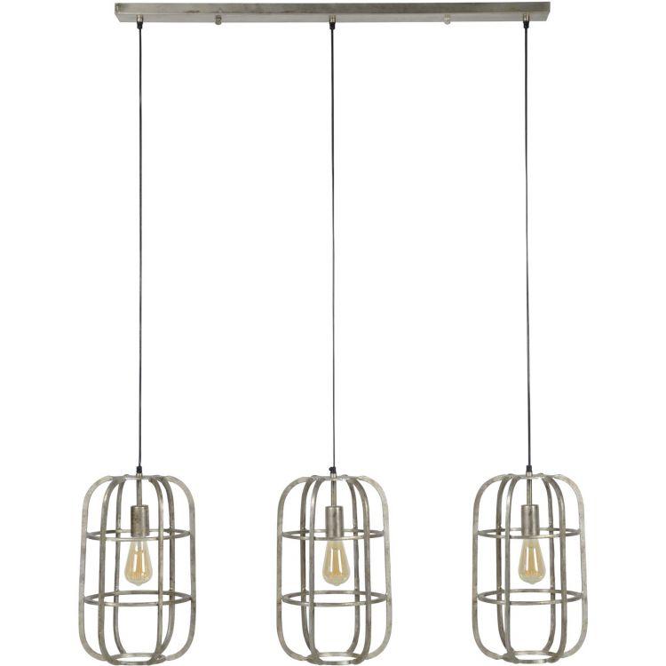 Lampe blanche et grise design