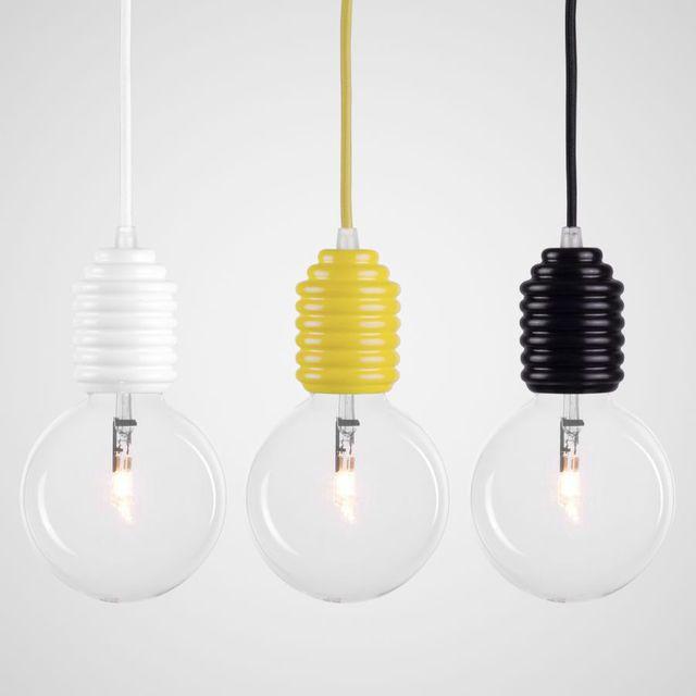 Lampe design grosse ampoule