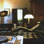 Lampe salon design italien