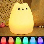 Lampe de chevet multicolor