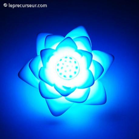 Lampe de chevet en forme de lotus