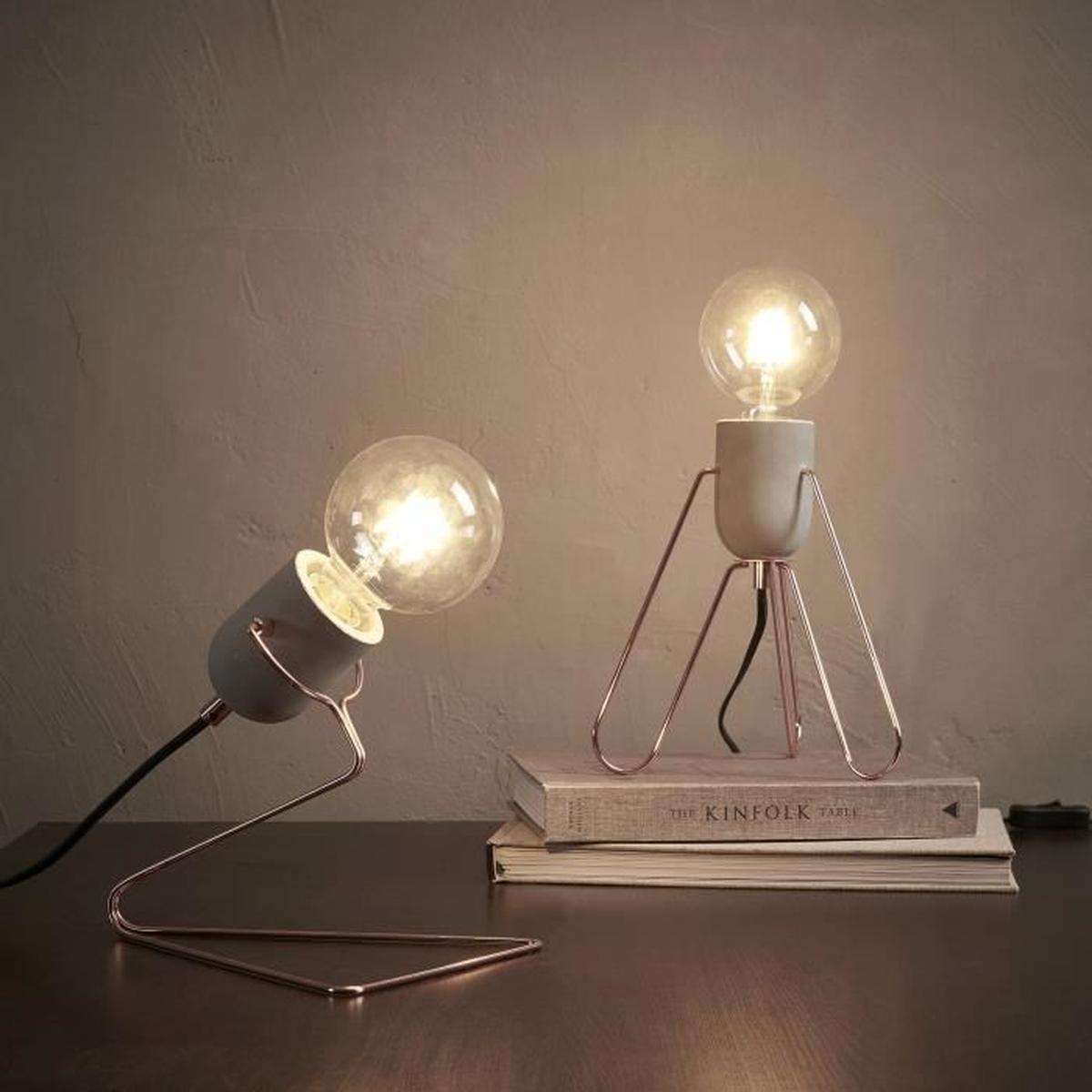 Lampe de chevet chambre moderne
